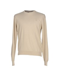 Jeckerson Knitwear Jumpers Men Beige