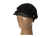 Lauren Ralph Lauren Greek Fisherman W Leather Brim Black Caps