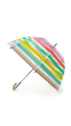 Kate Spade Stripes Umbrella Multi