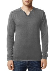 Buffalo David Bitton Walleys Long Sleeved Pullover Grey