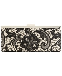 Style And Co. Carolyn Lace Clutch Champagne