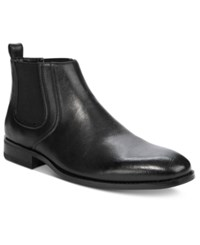 Unlisted By Kenneth Cole Men's Half N Half Boots Men's Shoes Black