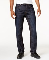 Sean John Men's Bedford Slim Straight Fit Flap Pocket Jeans Resin Raw