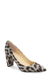 Ivanka Trump Women's 'Lysa' Pointy Toe Pump Natural Fabric