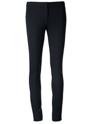 Derek Lam 'Hannah' Stretch Leggings Blue