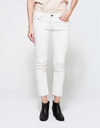 Rag And Bone Tomboy In Winter White Cord