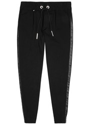 Philipp Plein Guilty Black Jersey Jogging Trousers