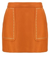 Kookai Mini Skirt Ochre