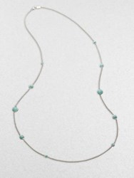 Ippolita Turquoise And Sterling Silver Necklace
