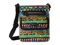 Sakroots Small Flap Messenger Radiant One World Cross Body Handbags Multi