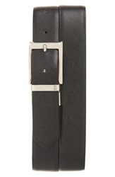 Canali Men's Leather Reversible Belt