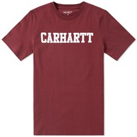 Carhartt College Tee Red