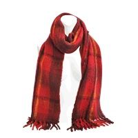 Marc By Marc Jacobs Blanket Plaid Scarf
