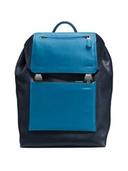 Coach Manhattan Backpack Qb Denim