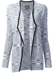 Leo And Sage Open Front Cardigan Grey