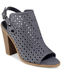 Indigo Rd. Mindee Peep Toe Sandals Women's Shoes Thunder