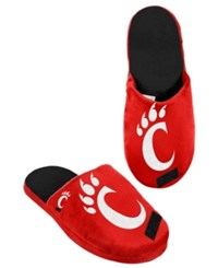 Forever Collectibles Men's Cincinnati Bearcats Big Logo Slippers