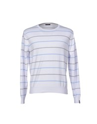 Bramante Knitwear Jumpers Men White