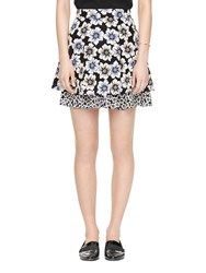 Kate Spade Hollyhock Double Layer Skirt