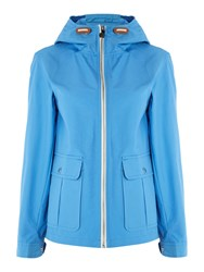 Gloverall Cropped Swing Jacket Blue