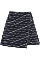 Elizabeth And James Daniella Tweed Mini Skirt Blue