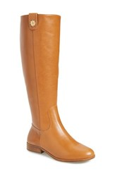 Jack Rogers Women's Parker Tall Boot Cognac Leather