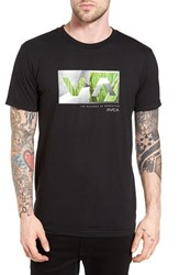 Rvca Men's Photo Balance Graphic T Shirt