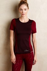 Anthropologie Adidas By Stella Mccartney Run Performance Tee Red L Activewear
