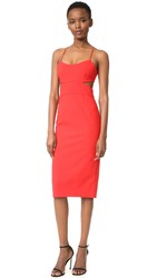 Jill Stuart Cutout Dress Apple Red