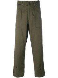 Universal Works 'Farigue' Trousers Green