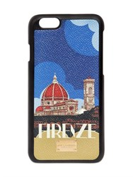 Dolce And Gabbana Firenze Dauphine Leather Iphone 6 Case