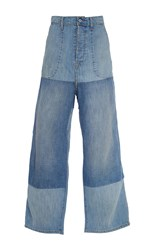 Band Of Outsiders Duisburg Woodstock Pants Blue