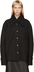 Thomas Tait Black Western Shirt