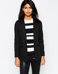 Asos Ultimate Ponte Blazer Black