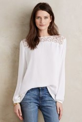 Dolan Arielle Laced Top Ivory