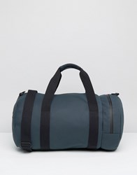 Fred Perry Matte Barrel Bag In Navy Navy