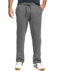 Champion Jersey Open Bottom Pants Granite