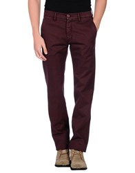 Maestrami Trousers Casual Trousers Men Maroon