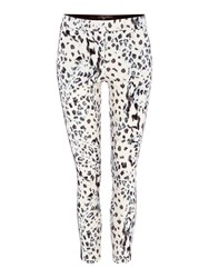 Pied A Terre Printed Trousers Multi Coloured