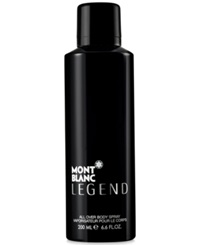Montblanc Legend Body Spray 6.6 Oz.