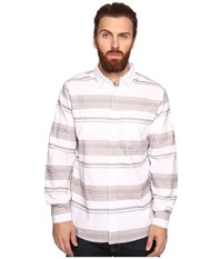 Tavik Shin Long Sleeve White Grey Men's Short Sleeve Knit