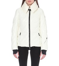Moncler Queyras Quilted Shell Jacket White