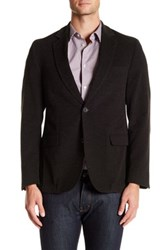 Flynt Brown Waffle Corduroy Two Button Notch Lapel Jacket