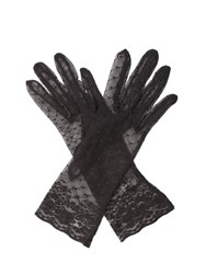 Cornelia James Clementine Lace Gloves Black