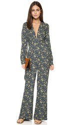 Free People Some Like It Hot Jumpsuit Midnight Combo