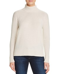 Bloomingdale's C By Cropped Raglan Cashmere Sweater Snow