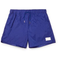 Acne Studios Short Length Swim Shorts Cobalt Blue