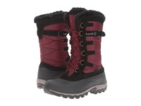 Kamik Snowvalley Burgundy Women's Cold Weather Boots