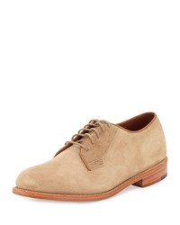 Gorilla Usa Suede Dress Oxford Tan