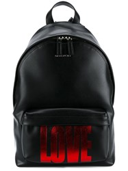 Givenchy Love Backpack Black